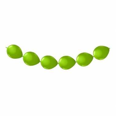 Knoop ballonnen lime groen