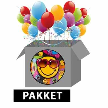 Smiley feestpakket